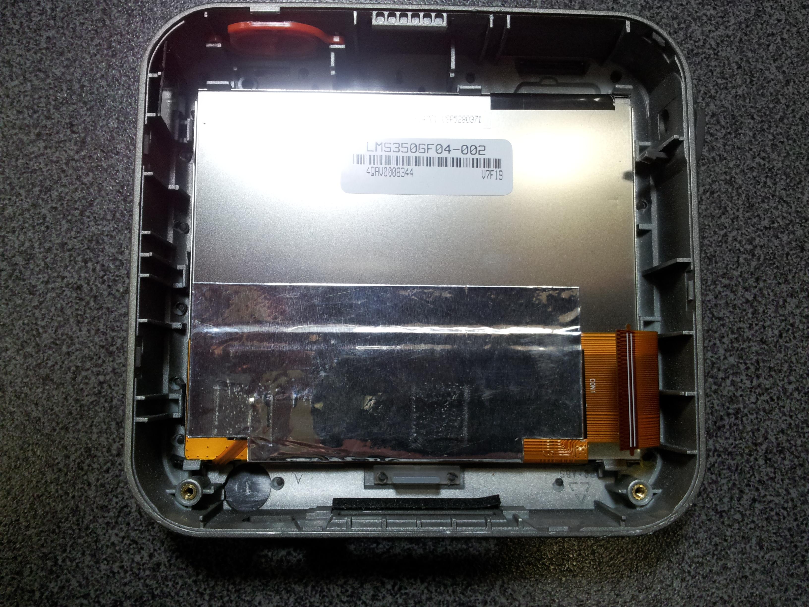 Разборка GPS навигатора Mio C220.