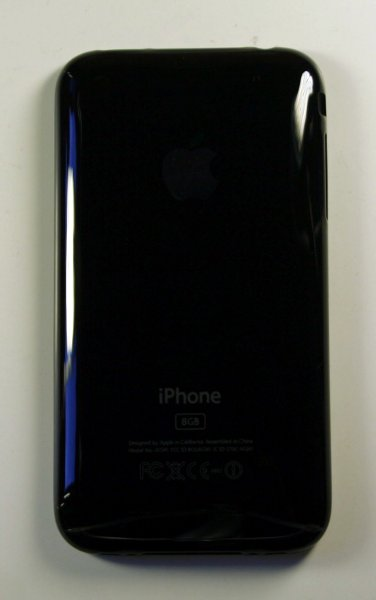 Корпус Apple iPhone 3G задняя панель 8Gb (цвет: черный) - Корпуса Apple iPhone - Apple iPhone/iPod/iPad