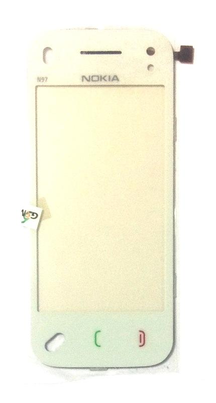 Тачскрин для nokia n97 mini белый